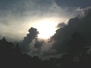 ciel aux Buttes Chaumont