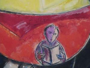 Chagall, détail