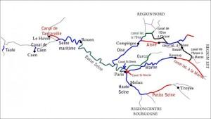 chemins d'eau