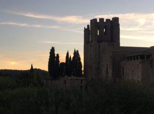 Lagrasse - l'abbaye